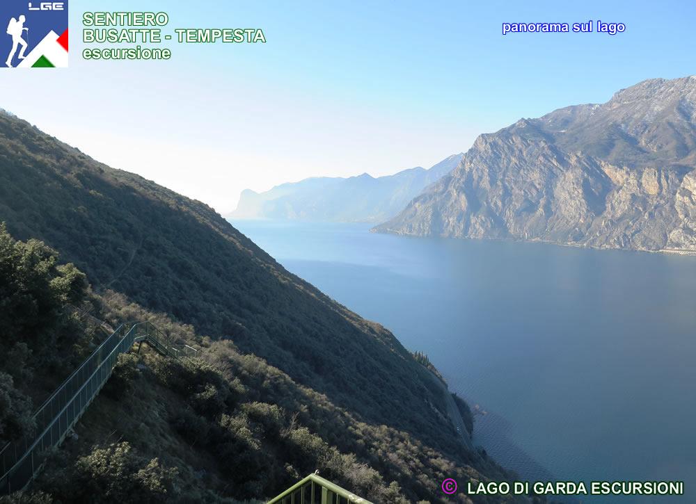 Sentiero Busatte Tempesta Da Torbole Sul Garda Lago Di Garda